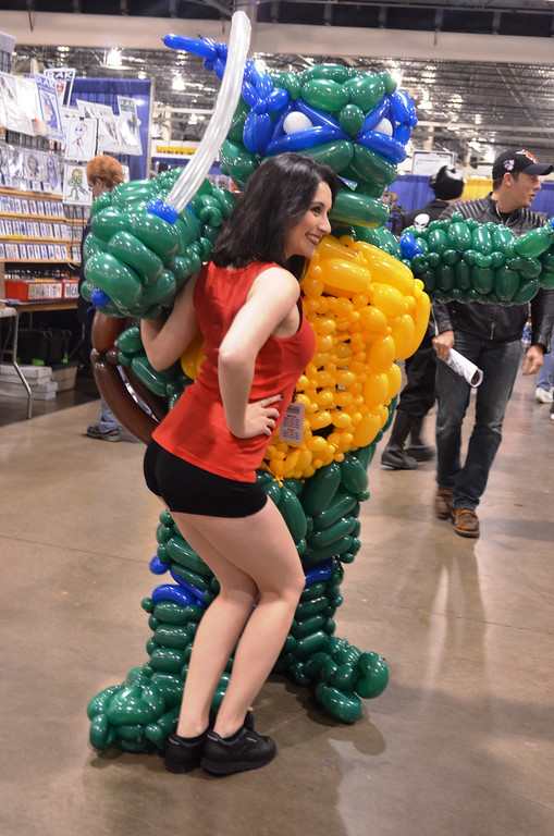 Description of . Images from Friday May 16 at the Motor City Comic Con in Novi, Michigan.  Photo by Dave Herndon.