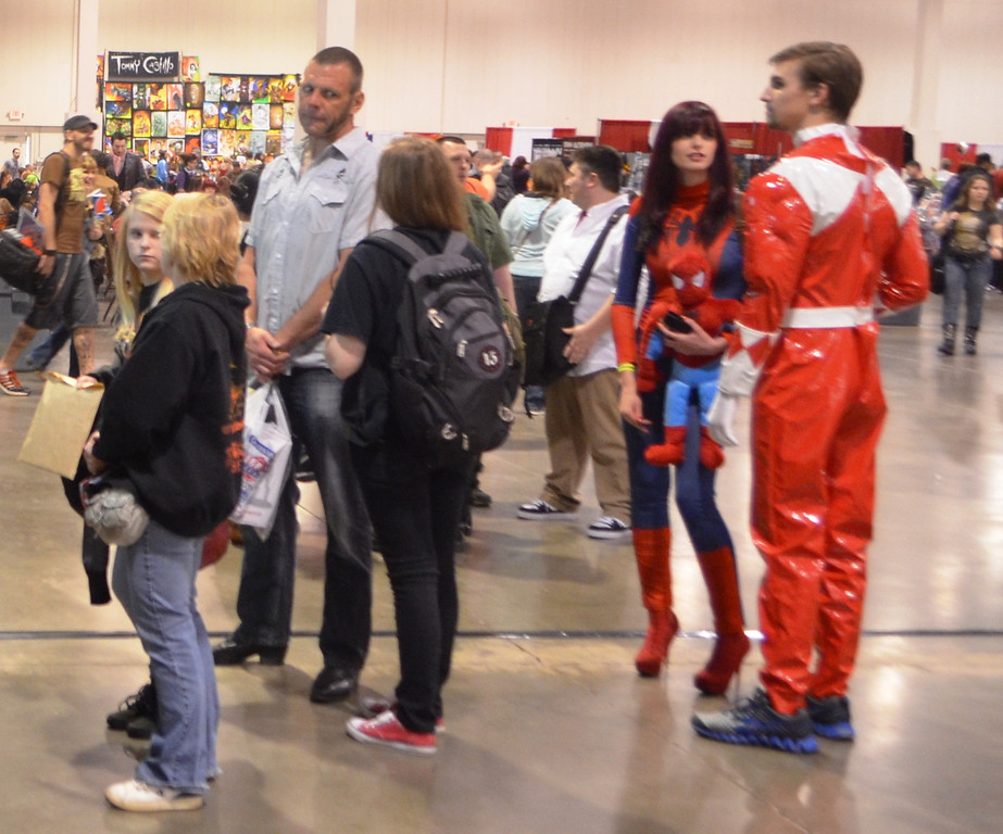 . Images from Friday May 16 at the Motor City Comic Con in Novi, Michigan.