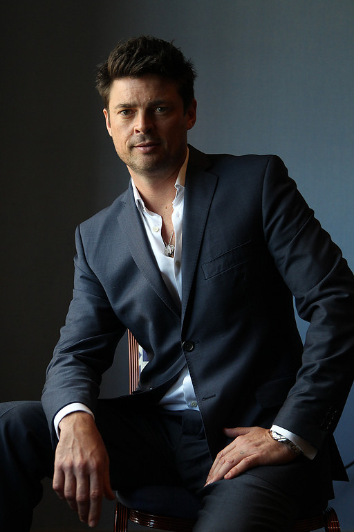". Actor Karl Urban, star of ""Dredd 3-D\"""